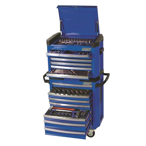 CONTOUR TOOL WORKSHOP 208 PIECE 14 3 8 & 1 2 DRIVE (blue) 1