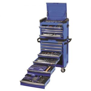 CONTOUR TOOL WORKSHOP 329 PIECE 14, 38 & 12 DRIVE (blue) 1