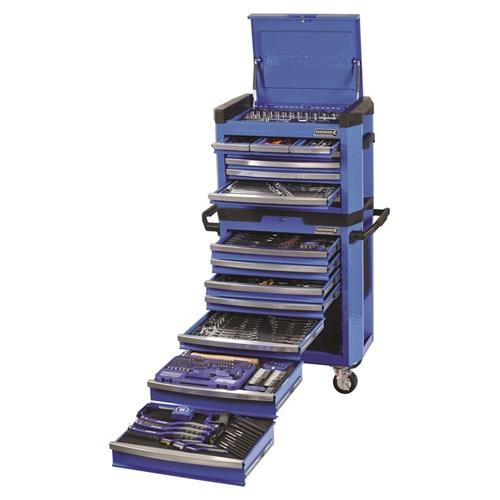 CONTOUR TOOL WORKSHOP 472 PIECE 14, 38 & 12 DRIVE (blue) 1