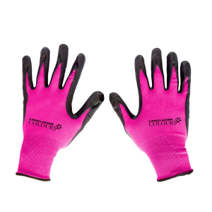 Colours Gardening Gloves Pink