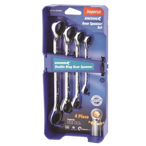 DOUBLE RING GEAR SPANNER SET 4 PIECE 1
