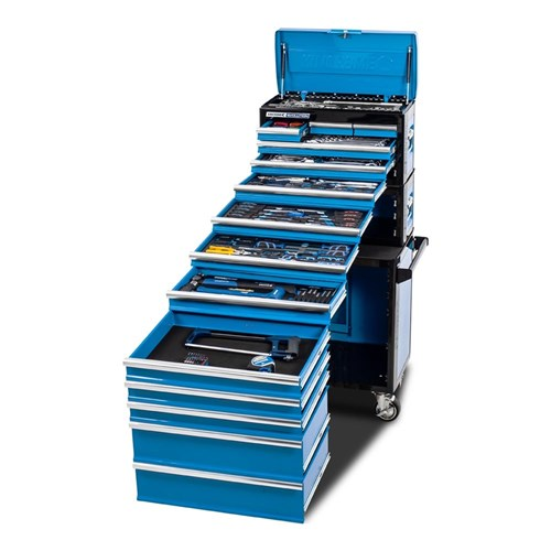 EVOLUTION TOOL WORKSHOP 245 PIECE 14 DRAWER 14, 38 & 12 DRIVE 1