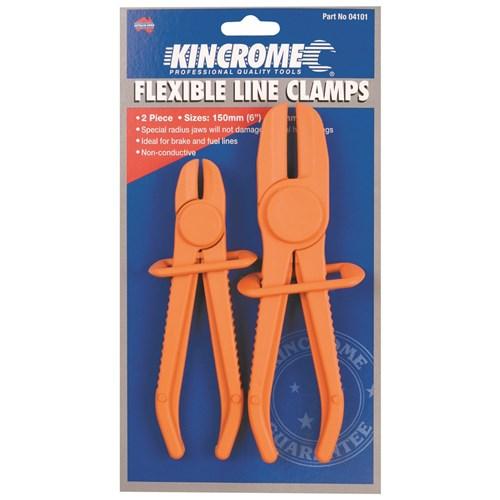 FLEXIBLE LINE CLAMPS 2 PIECE 1