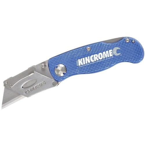 FOLDING UTILITY KNIFE LOCK BACK 150MM 1