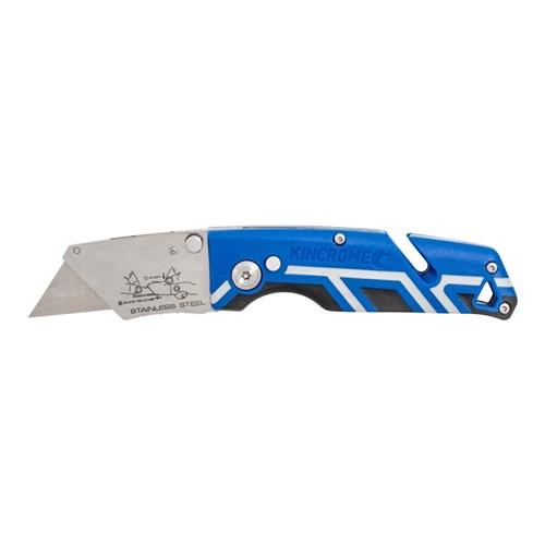 FOLDING UTILITY KNIFE TRIPLE GRIP HANDLE 1