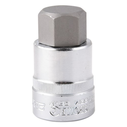 HEX BIT SOCKET 22MM 12 DRIVE 1