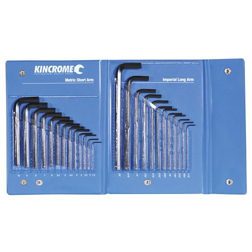 HEX KEY WRENCH SET 25 PIECE IMPERIAL & METRIC 1