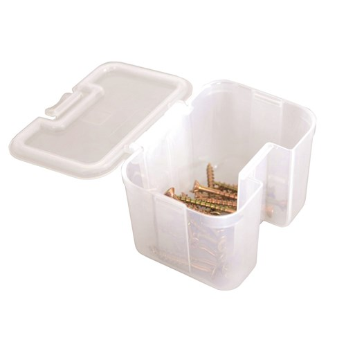 STORAGE TUB STACKABLE CLEAR 1