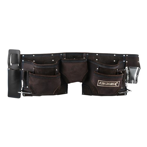 TOOL BELT 11 POCKET - LEATHER 1