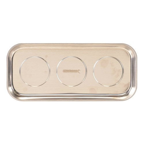TRIPLE MAGNETIC PARTS TRAY RECTANGLE 1