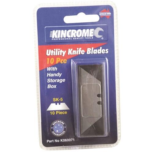 UTILITY KNIFE BLADES 10 PIECE 1