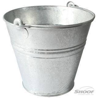Bucket Galvanised 11L