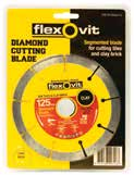 flexovit packaged Blades - Segmented
