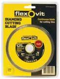 flexovit packaged Blades - continuous