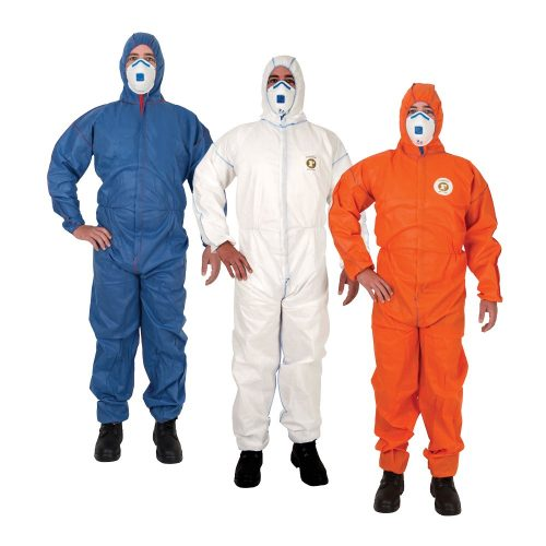 Frontier Type 5 and 6 Disposable Coveralls with Shield