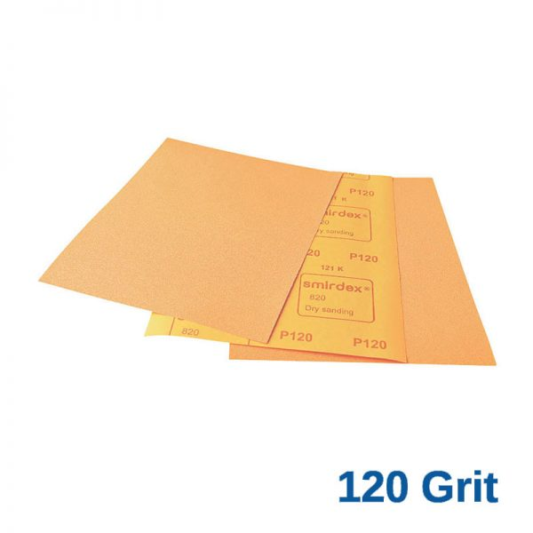 120 Grit Smirdex 820 Dryrub Sheets Pack of 50