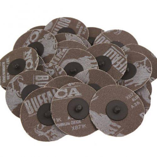 3 Roloc Sanding Disc 24 Grit - 25 Pieces