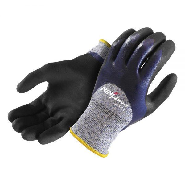 NIMXOILC3BL Maxim Cut 3-Oil Glove