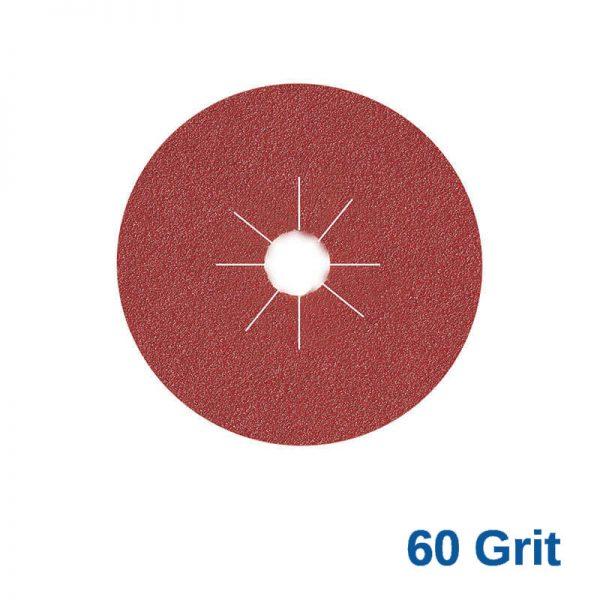 Smirdex Fibre Disc 115mm 60 Grit Pk25