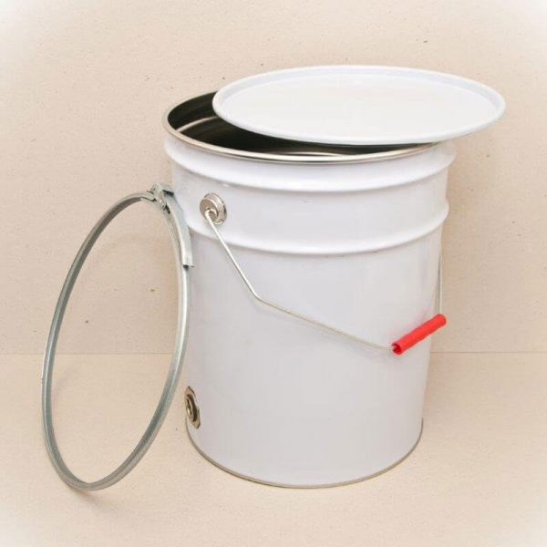 20L Pail with Metal Bung