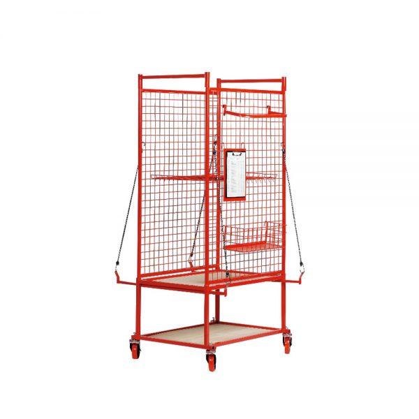 Auto Part Cart - Cage 58 x 89 x 180cm
