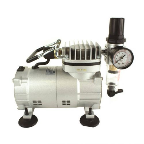 Mini Air Compressor with Regulator & Filter
