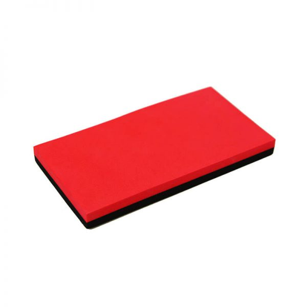 Soft Sanding Block - Red & Black
