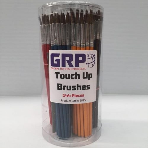 Touch Up Brushes 144 Pieces - Counter Display
