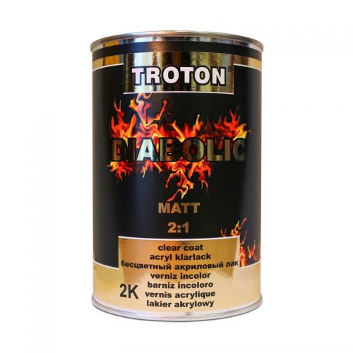 Troton Diabolic Matt Clear Coat 1Lt