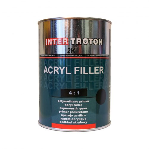 Troton HS Primer-Filler Black 4-1 Kit 1Lt