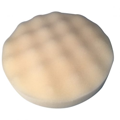 Waffle Foam Velcro Pad 190mm x 28mm - White