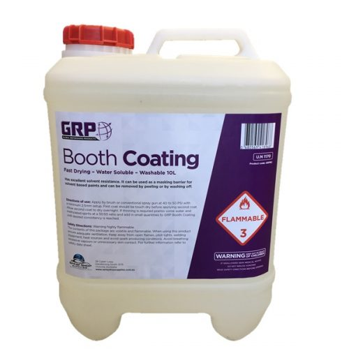 Washable Booth Coating 10Lt