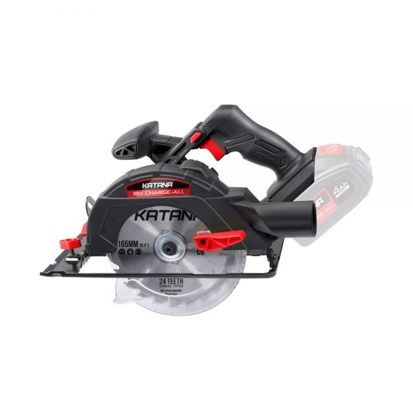 (product) Katana 18V Charge-All Circular Saw 165mm