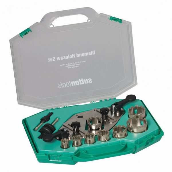 Diamond Grit Holesaw Sets